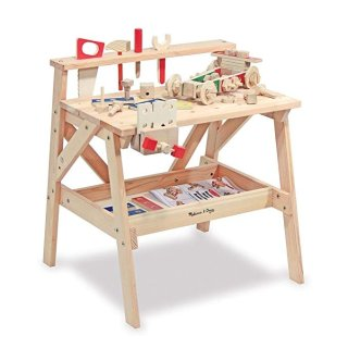 $49.99Melissa & Doug Solid Wood Project Workbench Play Building Set