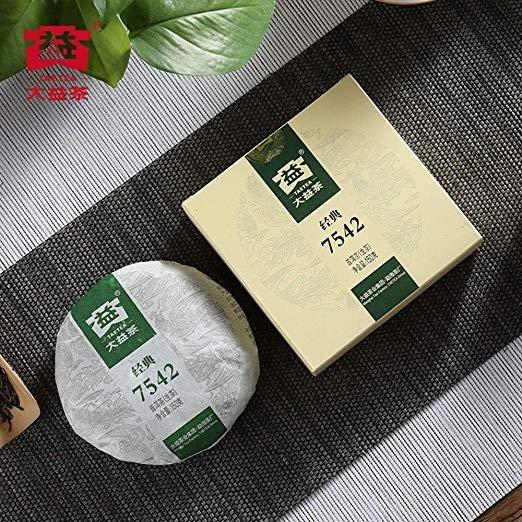 经典7542生茶饼 150克
