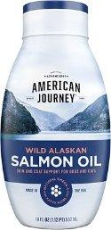 American Journey Wild Alaskan Salmon Oil Liquid Dog & Cat Supplement, 18-oz bottle - Chewy.com