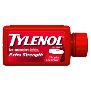 Tylenol Extra Strength, 325 Caplets