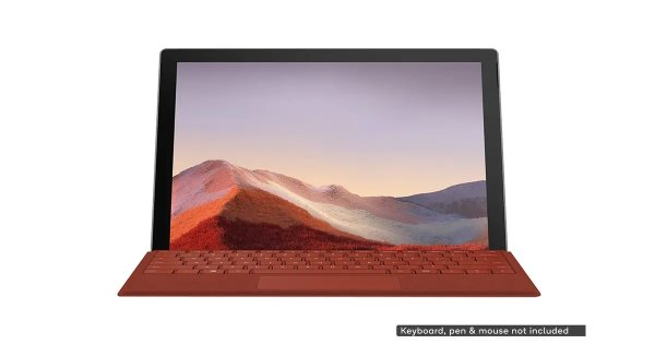Surface Pro 7 (i5, 8GB RAM, 128GB SSD, Platinum) | Windows Tablets |