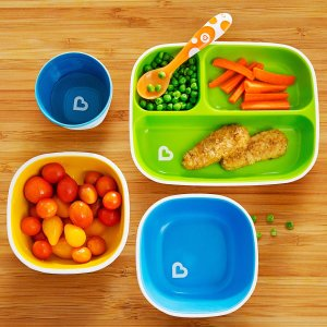 勺子6件套$3.18  封面套装$12.1Munchkin 婴幼儿餐具、洗护用品等居家好物