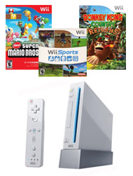 $49.99 Nintendo Wii Blast from the Past System Bundle