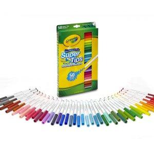 $6.97Crayola 可洗水彩笔50支