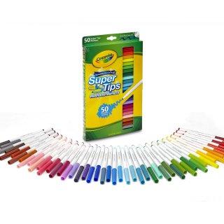 $6.99Crayola 可洗水彩笔50支