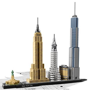 $64.99(原价$74.99)LEGO 建筑系列之纽约市 21028