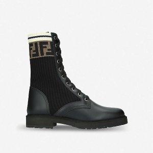 定价优势 BV可爱雨靴$730Selfridges 大牌短靴盘点,Fendi老花短靴省$560