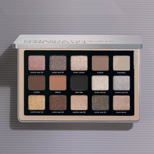 $87 已发售上新:Natasha Denona 秋冬新品Glam 眼影盘 灰调棕色系非常可