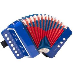 $27.99(原价$39.99)Horse 儿童手风琴 10键控制 初学推荐 轻巧好拿
