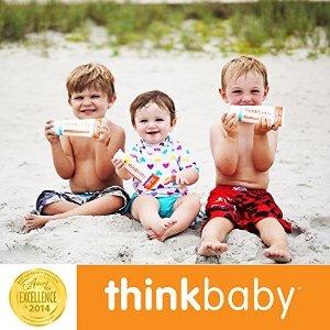 儿童安全防晒霜SPF 50+ 3盎司