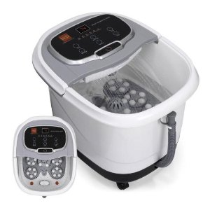 Dealmoon Exclusive! Portable Heated Foot Bath Spa w/ Massage Rollers