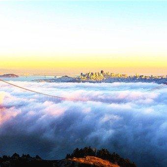 <9日>美西3城:旧金山、洛杉矶市区深度游览,拉斯维加斯2天自由行,1号公路漫游,大峡谷乘直升机,锡安国家公园,渔人码头