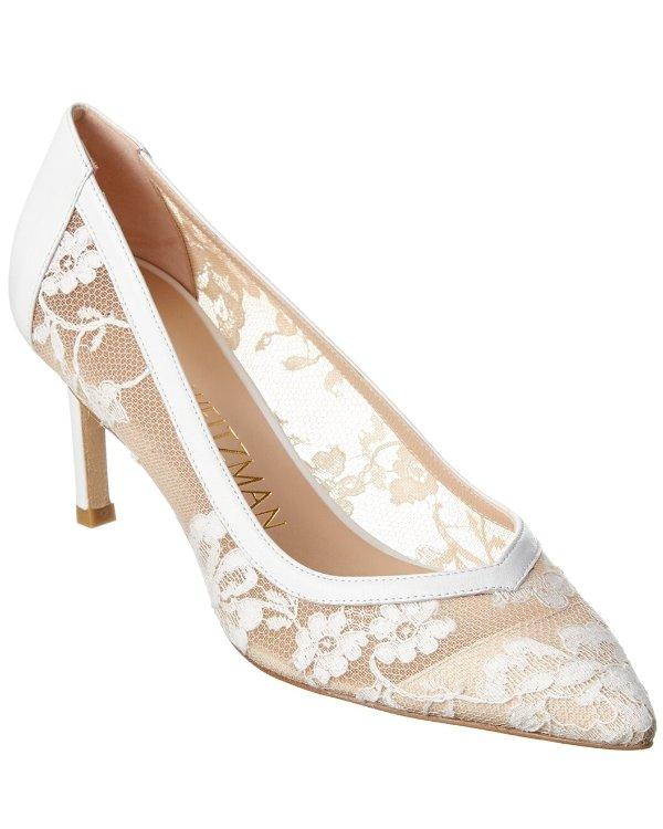 Anny 70 蕾丝高跟鞋