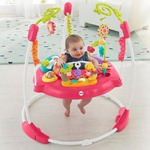 $66.26 接近史低价Fisher-Price 婴幼儿蹦蹦游戏椅 粉色