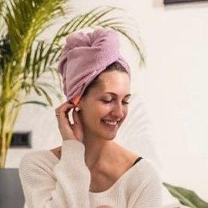 变相6.3折 $35收干发帽Aquis 超人气速干吸水干发帽热促  提升幸福感的生活好物
