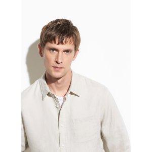Vince亚麻衬衫