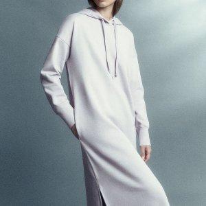 新人9折 €62收封面同款COS 秋冬新款卫衣 打造性冷淡简约风 面料舒适 可甜可盐