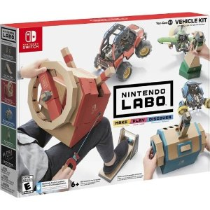 NintendoSwitch Labo Vehicle Kit