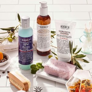 Choose 6 Piece Gift on a $65+ orderplus Choose a Full Size Cleanser on $115+ Order @ Kiehl's