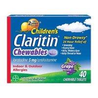 Claritin 儿童Claritin 24小时抗过敏咀嚼片