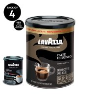 Lavazza 中度烘焙Espresso咖啡粉8oz 4罐装