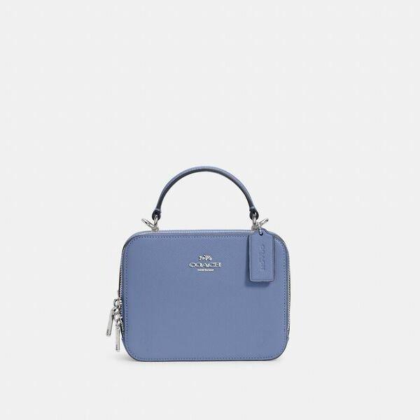 Box 雾霾蓝盒子包