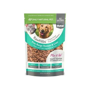 Only Natural PetBuy 1 Get 1 50% OffRawNibs Freeze Dried Food