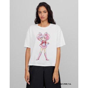 X 美少女战士 小小兔短袖T恤