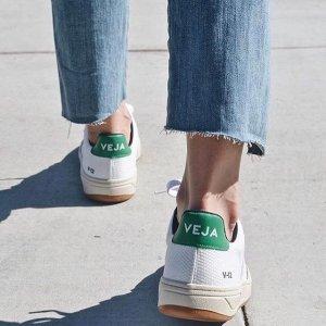 全场85折 £76收杨洋同款小白鞋Veja 小白鞋好折扣悄悄上线 时尚博主强推单品
