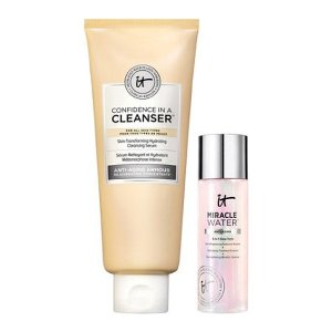 IT Cosmetics CanadaYour Confidence in a Cleanser 正装洁面+旅行装化妆水