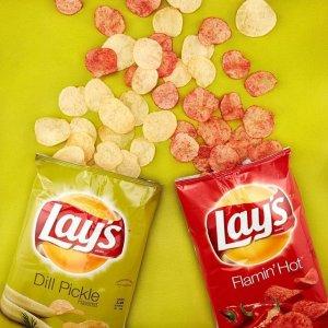 薯片40包$11.77起   每包仅$0.29Frito Lay 品牌薯片洋葱圈等零食低至6.5折热卖