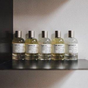 买100ml香水送22件大礼包!Le labo 全线小众香氛热卖 满足你对木质香调一切想象