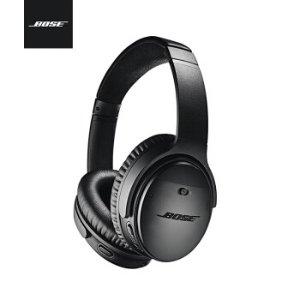Bose【BoseQC35】Bose QuietComfort 35 II无线消噪耳机—黑色 QC35二代蓝牙降噪耳机【行情 报价 价格 评测】-京东