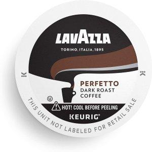 $6.58 一颗$0.41Lavazza Perfetto 深焙 K-cup 咖啡胶囊 16颗