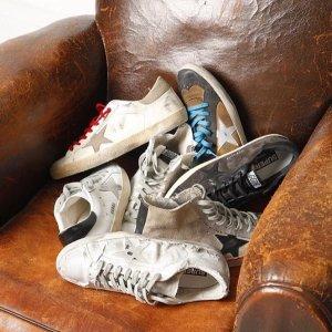 定价优势+8折+部分用户满额减$160Golden Goose 脏脏鞋专场促销$263起