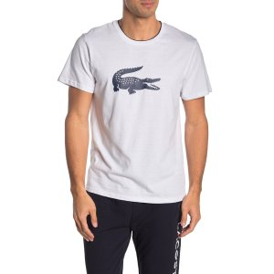 LacosteKnit Lounge Logo T-Shirt