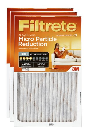 $15Filtrete Allergen Defense Micro Particle Reduction HVAC Furnace Air Filter