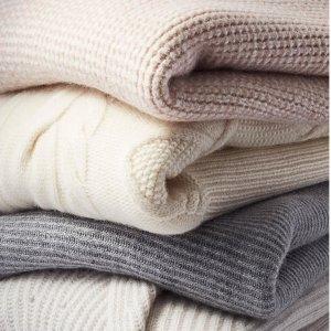 低至2折 $29起收百搭羊绒围巾Nordstrom Rack 羊绒系列单品热卖,温暖整个秋冬