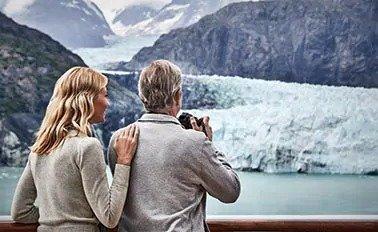 阿拉斯加冰川航线7日游