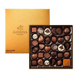 Godiva34块礼盒