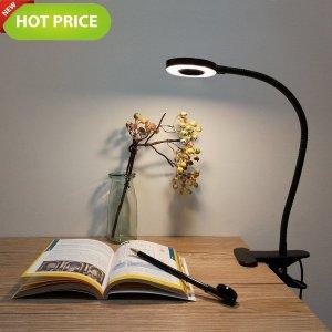 $15.99 (原价$21.99)闪购:Arespark 360度可调节 LED卡夹式护眼灯