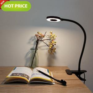 $16.99(原价$19.99)Foneso 桌面台灯 LED灯 冷暖光可调节 学习不累眼