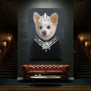 Classy Lady - Custom Pet Portraits