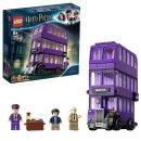闪促价£27.99(原价£34.99)LEGO 哈利波特系列:3层骑士巴士 75957 探索魔法世界