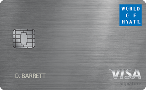 Up to 60,000 Bonus PointsThe World Of Hyatt Credit Card