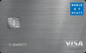 Up to 60,000 Bonus PointsThe World Of Hyatt Credit Card