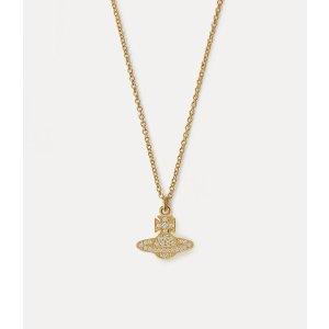 Vivienne Westwood金色土星项链