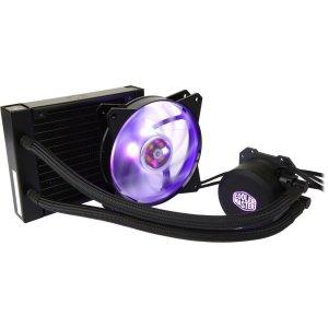 $34.99 (原价$49.99)Cooler Master ML120L RGB CPU 一体式水冷