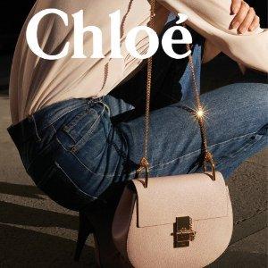 限时8折 新款C钱包$352独家:Chloé 全场新品热卖 Woody、Joyce、Faye新线福利价