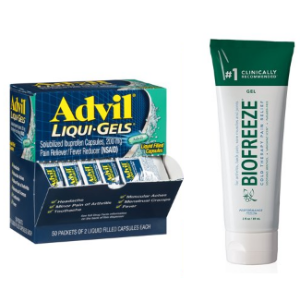 Save$3.3 Buying TogetherAdvil & Biofreeze Bundle